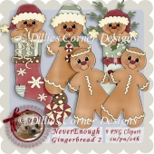 Never Enough Gingerbread CU - 2