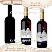 Wine Bottle - CU OK