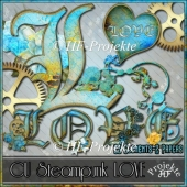 CU Steampunk Love Elements