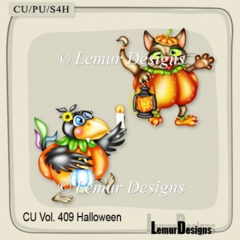 CU Vol. 409 Halloween Animals