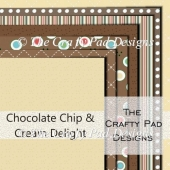 Chocolate Chip & Cream Delight Paper Pack