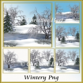 Wintery png