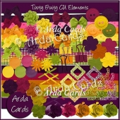 Tooty Fruity CU Elements