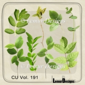 CU Vol. 191 Nature Foliage by Lemur Designs