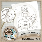 Digital Stamps - Vol 6