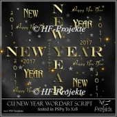 CU Happy New Year 2017/3 Script/Template
