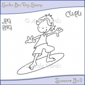 Surfer Boi Digi Stamp