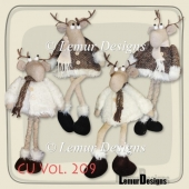 CU Vol. 209 Mooses by Lemur Designs