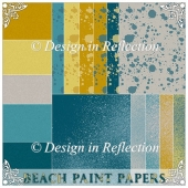 Beach Paint Papers