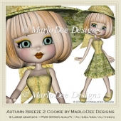 Autumn Breeze 2 Cookie Poser Graphics by MarloDee Designs