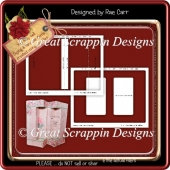 Double Window Box Card Template *PNG and PDF*