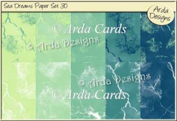 Sea Dreams Paper Set 30