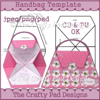handbag template 2 58 commercial use scraps