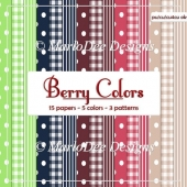 Berry Colors 1 A4 Designer Papers Package by Marlo
