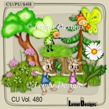 CU Vol. 480 Summer Flowers Forest