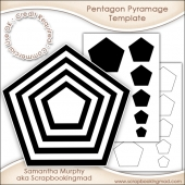 Pentagon Pyramage Template Commercial Use Ok