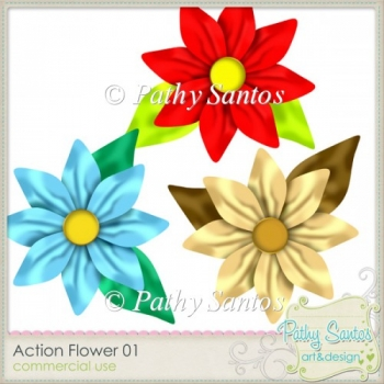 Action Flower 01 Pathy Santos