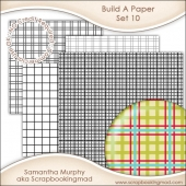 Build A Paper Set 10 - PNG FILES & .PAT File - CU OK