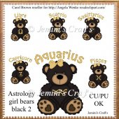 Astrology Girl Bears #2