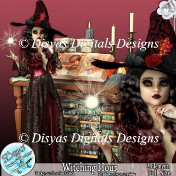 WITCHING HOUR CU POSER TUBE - FULL SIZE
