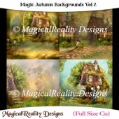 Magic Autumn Backgrounds Vol 2