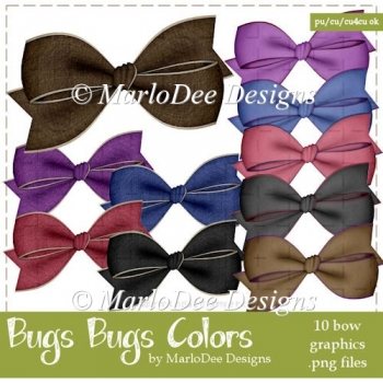 Bugs Bugs 2 Digital Bows Package