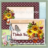 Autumn PSD Layered Card Front 02