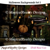 Halloween Backgrounds Set 1