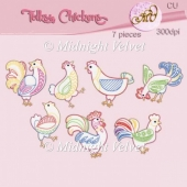 Folksy Chickens Element Pack