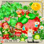 CU Vol. 615 Strawberry Mix