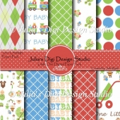 Little One Digital Paper Pack
