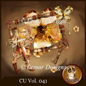 CU Vol. 041 Brown Mix by Lemur Designs