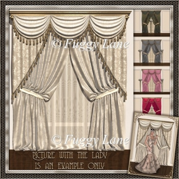 Elegant Curtains Set 1
