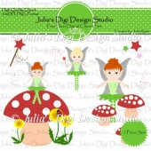 Pixie Dust Digital Clipart Set