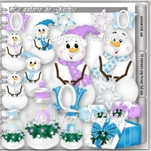 CU Cheerful snowman 2 FS by GJ