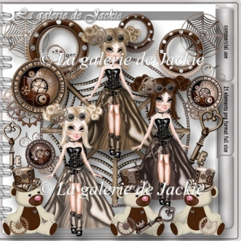 CU Steampunk Girl 2 FS by GJ