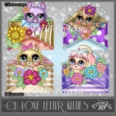 CU Love Letter Kitties