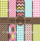 Easter Morning Digital Paper Pack
