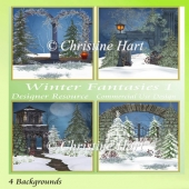 Winter Fantasies 1 Backgrounds