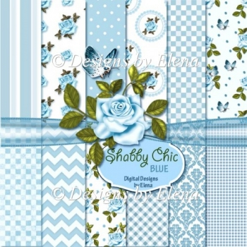 Shabby Chick Paper Pack 2 CU