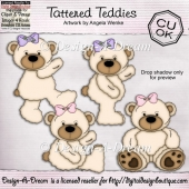 Tattered Teddies