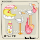 Baby stuff Girl by Lemur Designs
