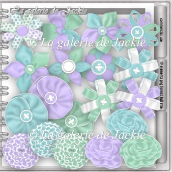 CU ribbon flowers 2 FS by GJ
