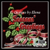 Christmas Greeting Card Elements 1