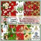 10 - A4 Christmas Backing Papers 4