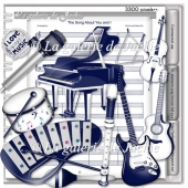 Musical Instruments 1 FS by GJ
