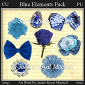 Blue Elements Pack