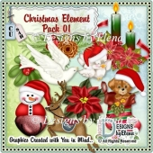 Christmast Element Pack 1