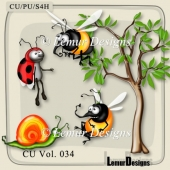 CU Vol. 034 Insects by Lemur Designs