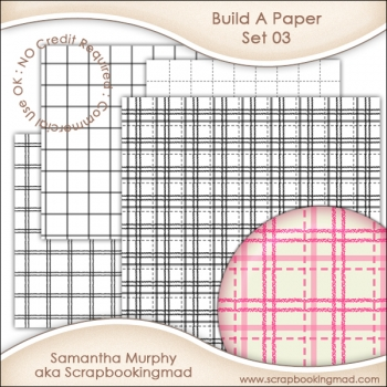 Build A Paper Set 03 - PNG FILES - CU OK